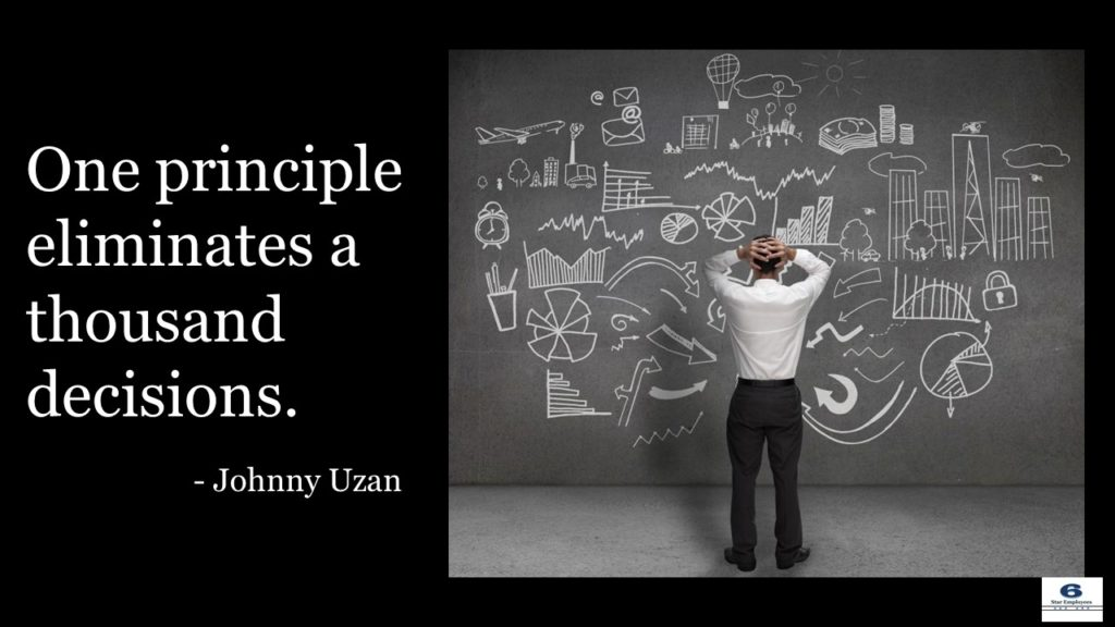 One principle