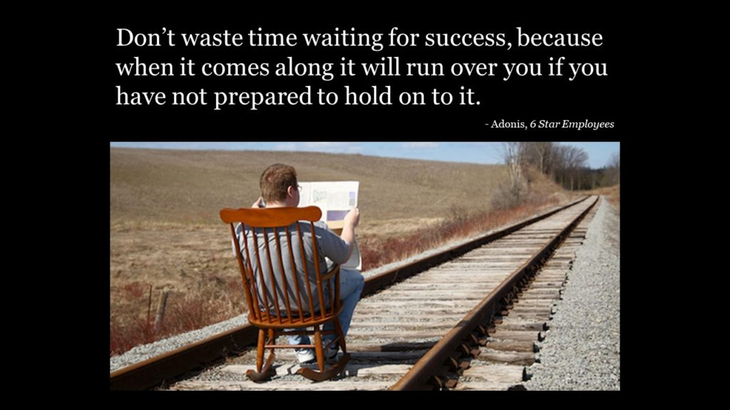 waiting for success